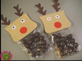 Sachet renne à fabriquer avec les enfants reindeer poop!!!