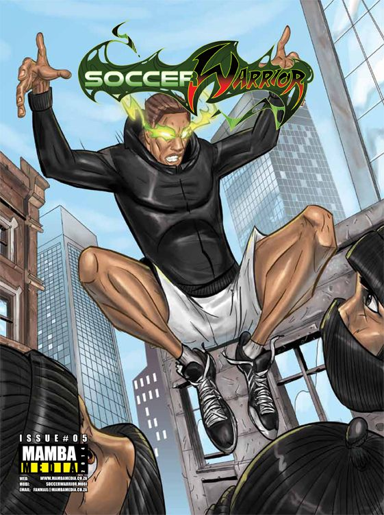 Soccer Warrior May 2014 cover
