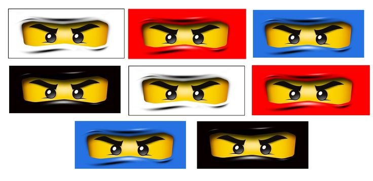 Eloquent image within ninjago mask printable