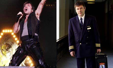 Iron Maiden singer (Bruce Dickinson) lands top airline job
