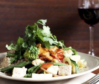 Vegie Bar - has yummy vegetarian food
