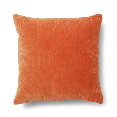 Kudde Geometric, 50x50 cm, orange