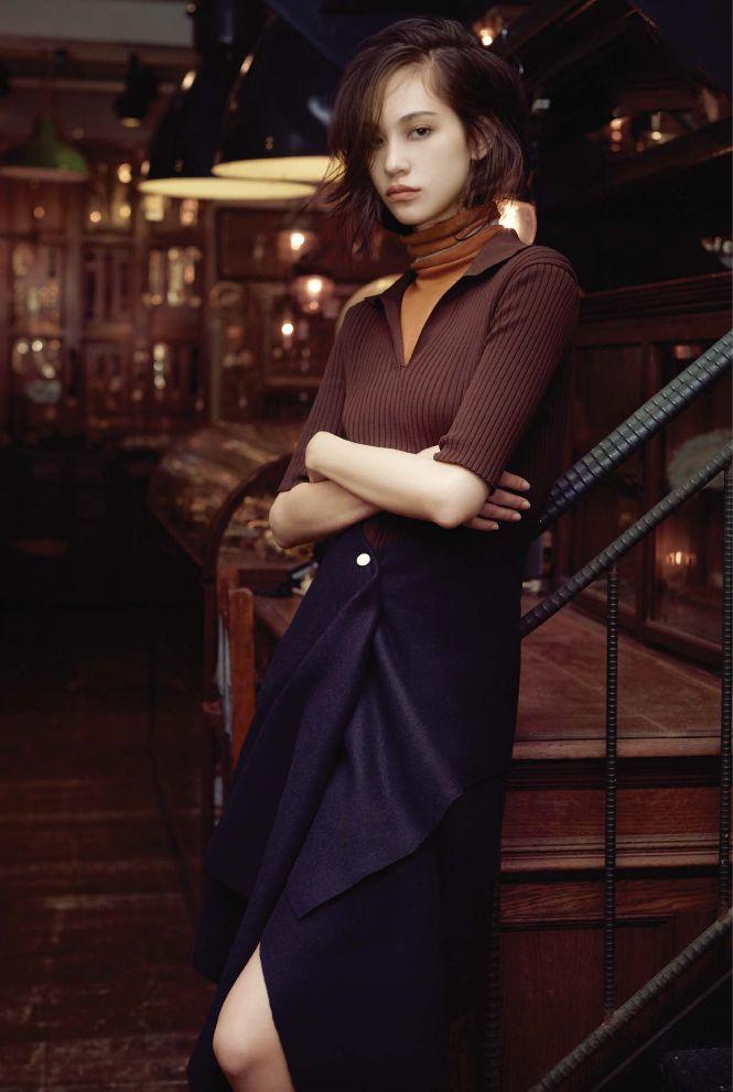 Kiko Mizuhara for Elle Korea August 2015. Edited by Team Mizuhara More photos here