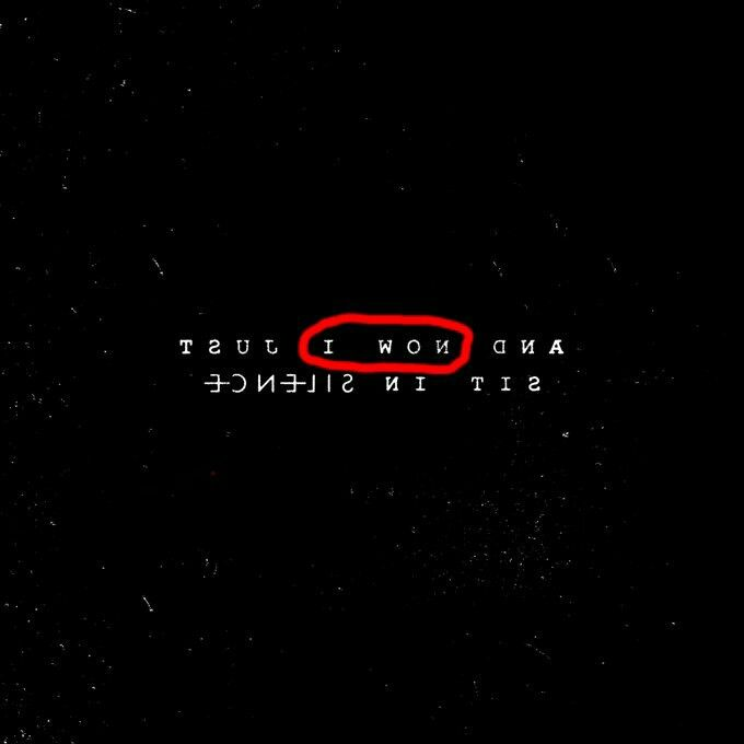 Purposeful or not, but I really like that it says this. Tyler beat Blurryface