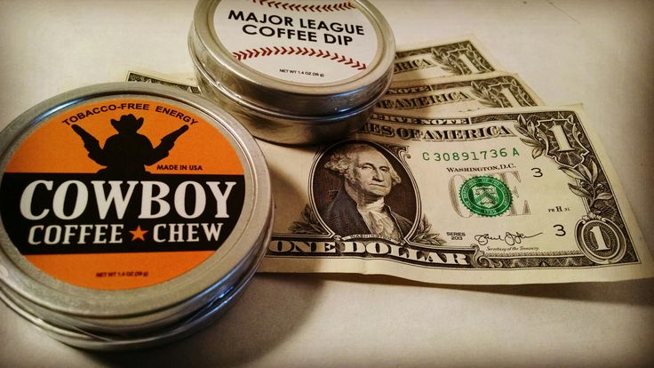2-4-1 TUESDAY for $2.99  Want to Try a Sample Set of our Cowboy Coffee Chew & Major League Dip?  For a TRIAL set of our Coffee CHEW Go to shop.chewcoffeedip.comand get a Can for $5.99. At Checkout Use Code: FREE for a $3.00 off discount and we'll add another can when we ship. So you'll get 2 Cans of Coffee Chew for just $2.99 all with Free USA Shipping. LIMITED TIME