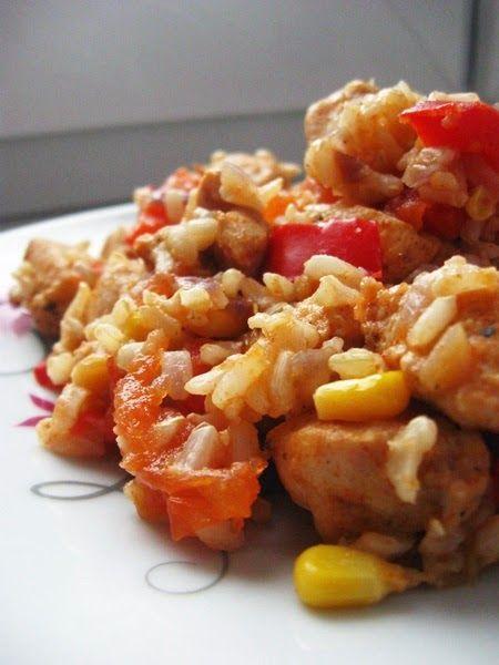 Tysiąc pomysłów na 1000 kalorii: Kurczak z Patelni z Warzywami