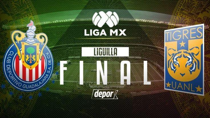 Chivas de Guadalajara vs. Tigres: se medirán en la final de vuelta por la Liguilla de la Liga MX en el Estadio Chivas. El duelo se jugará el domingo 28 de mayo desde las 18:06 horas y será