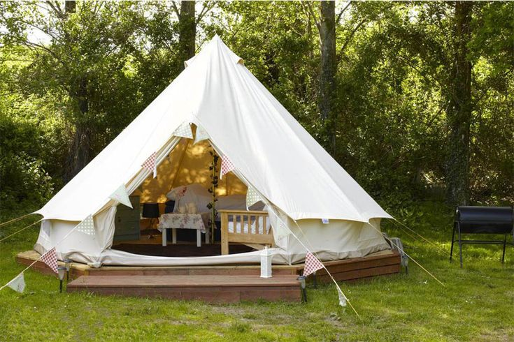 Canvas resort bell tent-Silence Luxury Teat