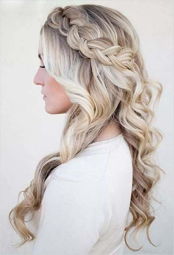 Cute Braided Hairstyles for Long Hair 2017