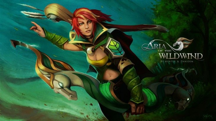 Dota 2 Windranger 9u hmm Pinterest Hd wallpaper and Girls - reddy küchen münster