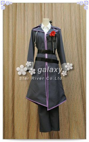 """A music software character of Japan. The name of software is """"GACKPOID."""" The name of a character is """"Camui Gackpo"""" This is clothes of """" Gackpo."""" ★VOCALOID2IMITATIONBLACK神威がくぽの衣装★"""