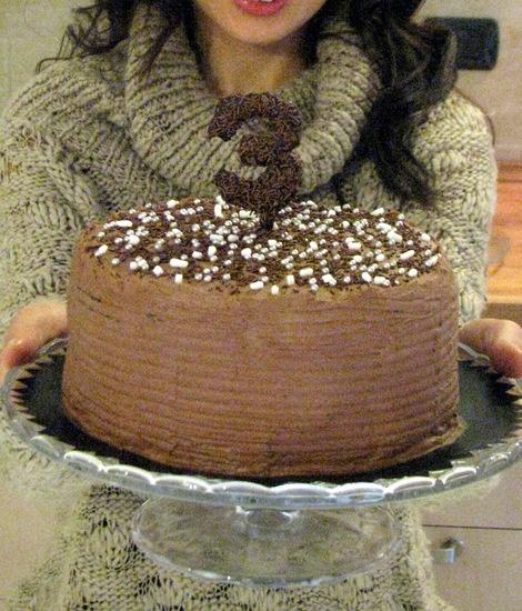 Chocolate Espresso Cake --- Çikolatalı Kahveli Pasta --- Torta al Cioccolato e Caffè