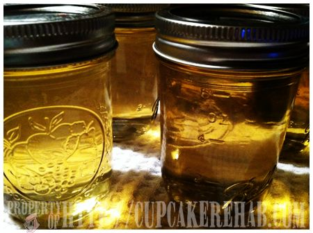 Champagne or white wine jelly.
