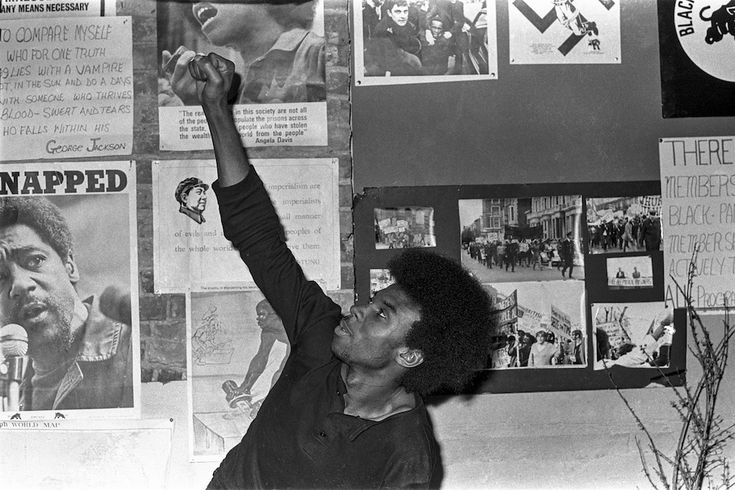 "(Image: Neil Kenlock self-portrait. 1970.) ""When I joined the Panthers, it was a reaction to how I was treated. I felt that this was what I could do for the Panthers. I could record their meetings, their marches, their efforts. Many of the photos were used in our meetings and so on. It was a conscious contribution to the movement.""~ Neil Kenlock, Photographer for the British Black Panther Movement."