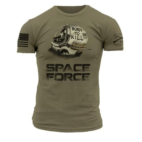 c6b8459f73 Space Force 2.0 Redux | Style | Grunt style, Mens tops, Shirts