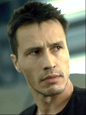 Michael Wincott--Sebastien Stonecipher, Montpeltier's right-hand man. He is unique in the fact that he is a hybrid--a rougarou-turned-werewolf, due to being bitten by the latter, which gives him both traits and makes him exceedingly dangerous.