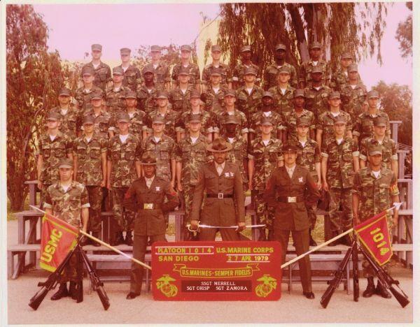 1979,MCRD San Diego,Platoon 1014 | USMC Platoon Photos ...