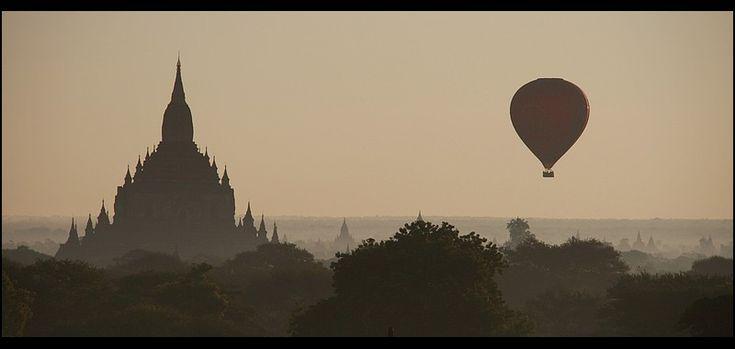 Bagan in the morning - Bagan, Mandalay