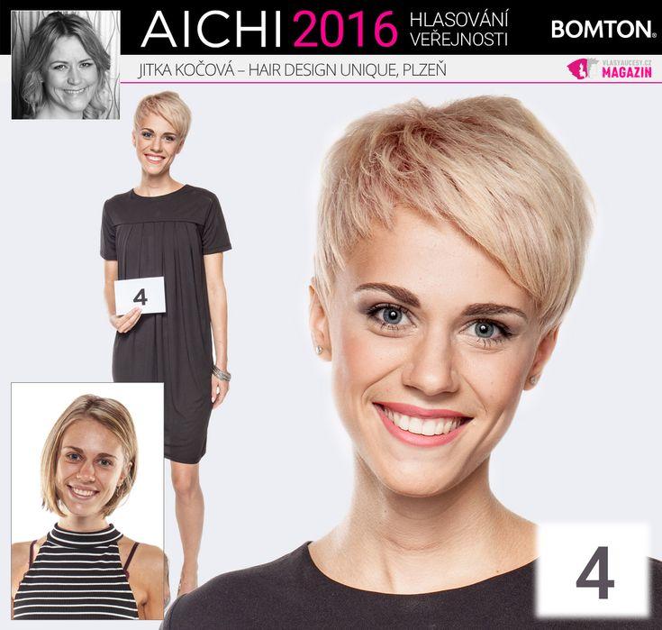 Finále AICHI 2016: Jitka Kočová - Hair Design Unique, Plzeň