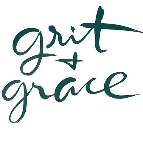 Pretty much making this phrase my life anthem. Thanks for this @alimakesthings ✌️ GRIT: courage and resolve; strength of character. GRACE: Jesus.  #riverraisedapparelco