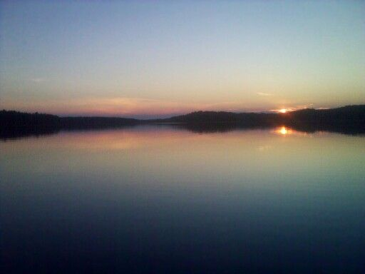 Finnish summer sunset
