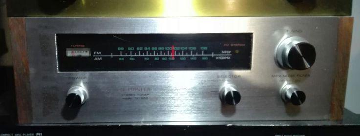 PIONEER TX 500  STEREO TURNER