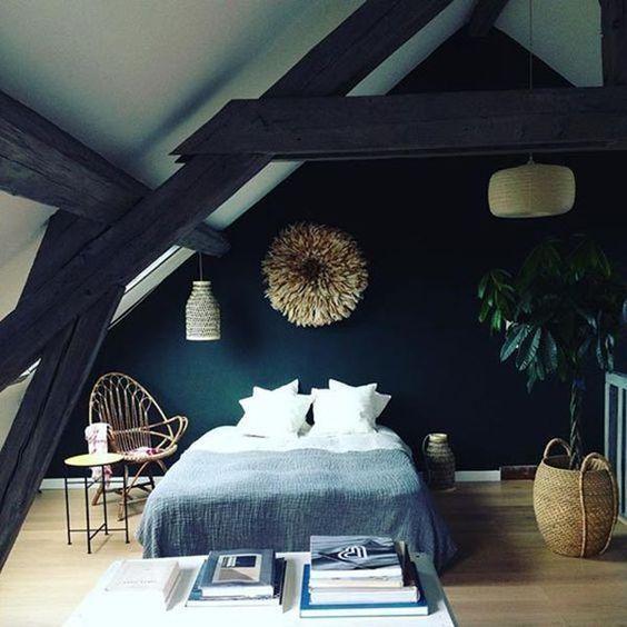 Plans Maison En Photos 2018 – Chambre design sous les combles ...