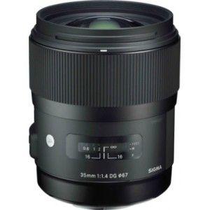 Sigma 35 mm f/1.4 Fixed Focal Length Lens for Nikon F