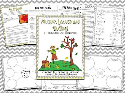 Autumn Leaves Are Falling! - FREE packet containing resources for any Fall Unit!