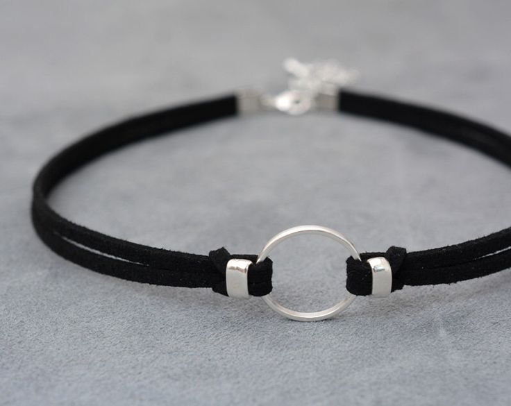 O-Ring choker necklace, Suede choker, Thin black choker, bdsm choker, bdsm collar, day collar, submissive day collar, Chocker by 1001ArtBeads on Etsy https://www.etsy.com/listing/464114535/o-ring-choker-necklace-suede-choker-thin