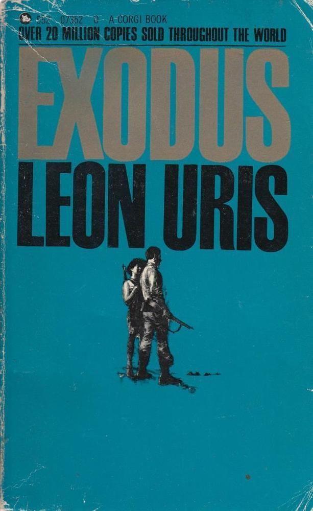 1081 Exodus Corgi Paperbacks Exodus