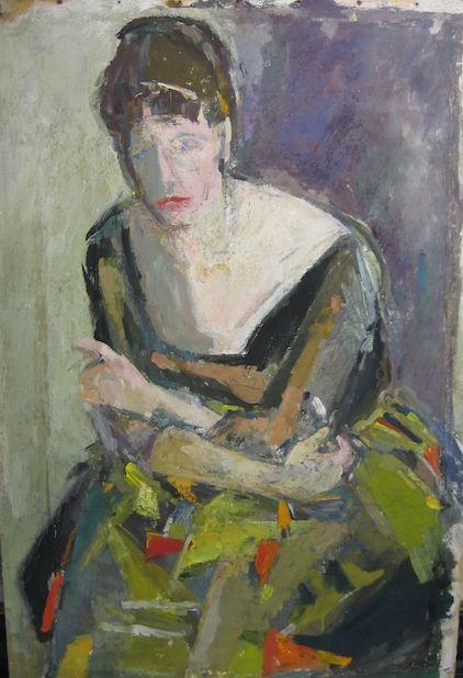 Adriena Šimotová: Portrét Daisy Mrázkové, 1958