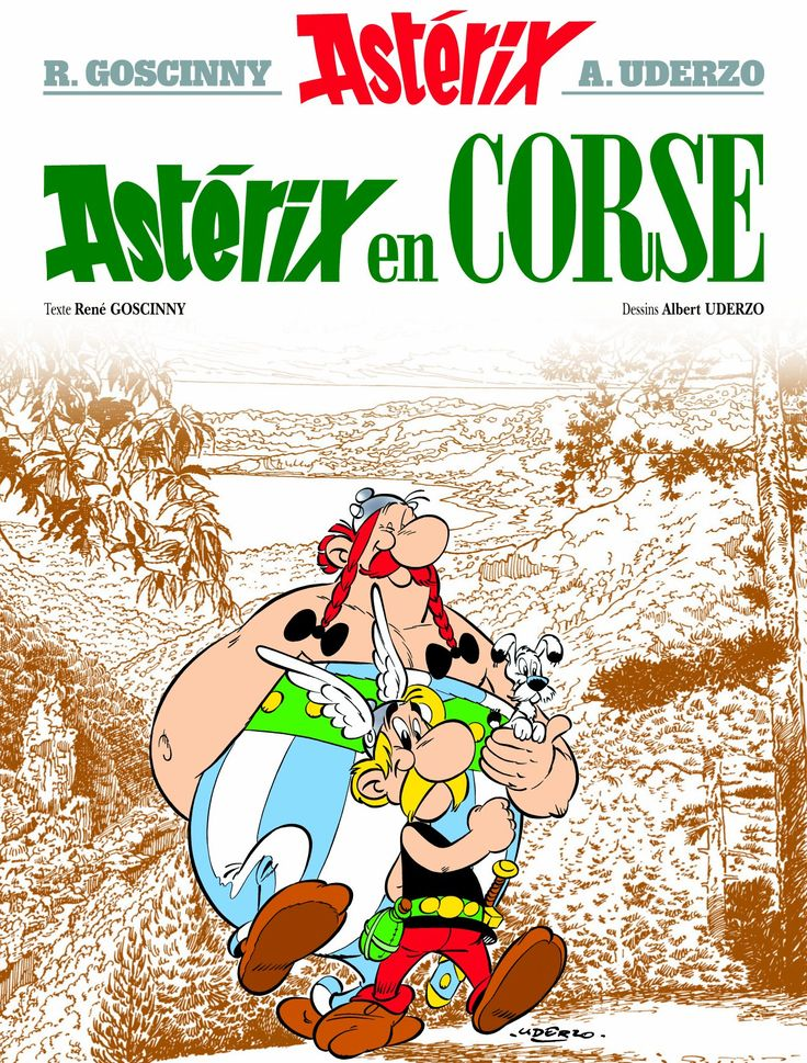Astérix en Corse / texte de René Goscinny ; dessins d'Albert Uderzo.