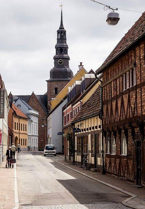 Town of Ystad, Skåne, Sweden