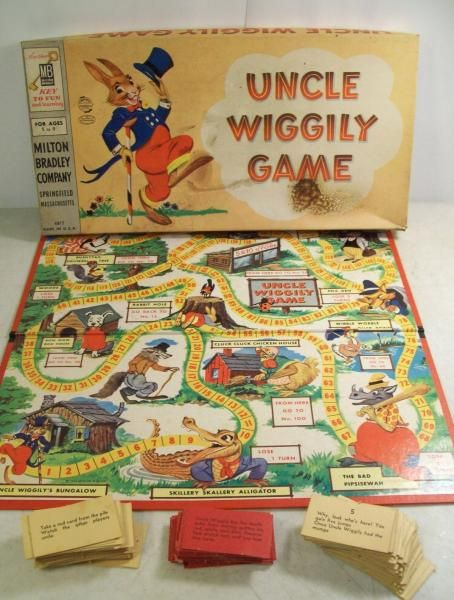 How about a game of Uncle Wiggly! Available at the Vermont Country Store