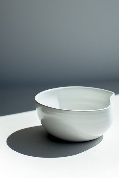 ORGANIC SMALL SALAD BOWL - IVORY