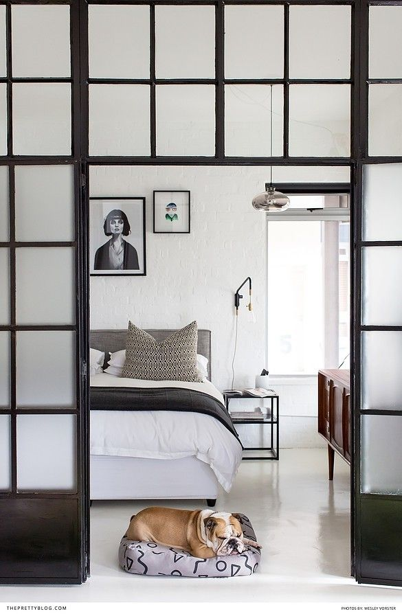 Modern, Monochromatic Bedroom Decor   Photography by Wesley Vorster