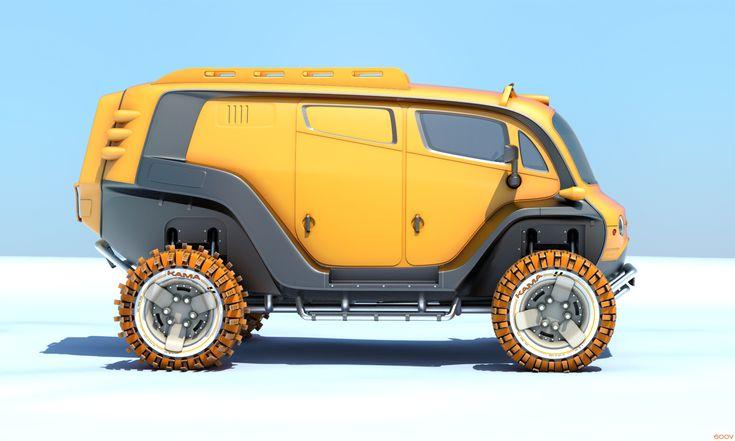 UAZ 2033 #4 by 600v.deviantart.com on @DeviantArt