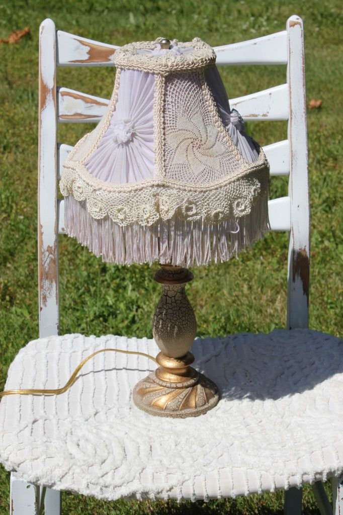 127 best red lace lady lampshades images on pinterest antique shabby lamp shade makeover more aloadofball Gallery