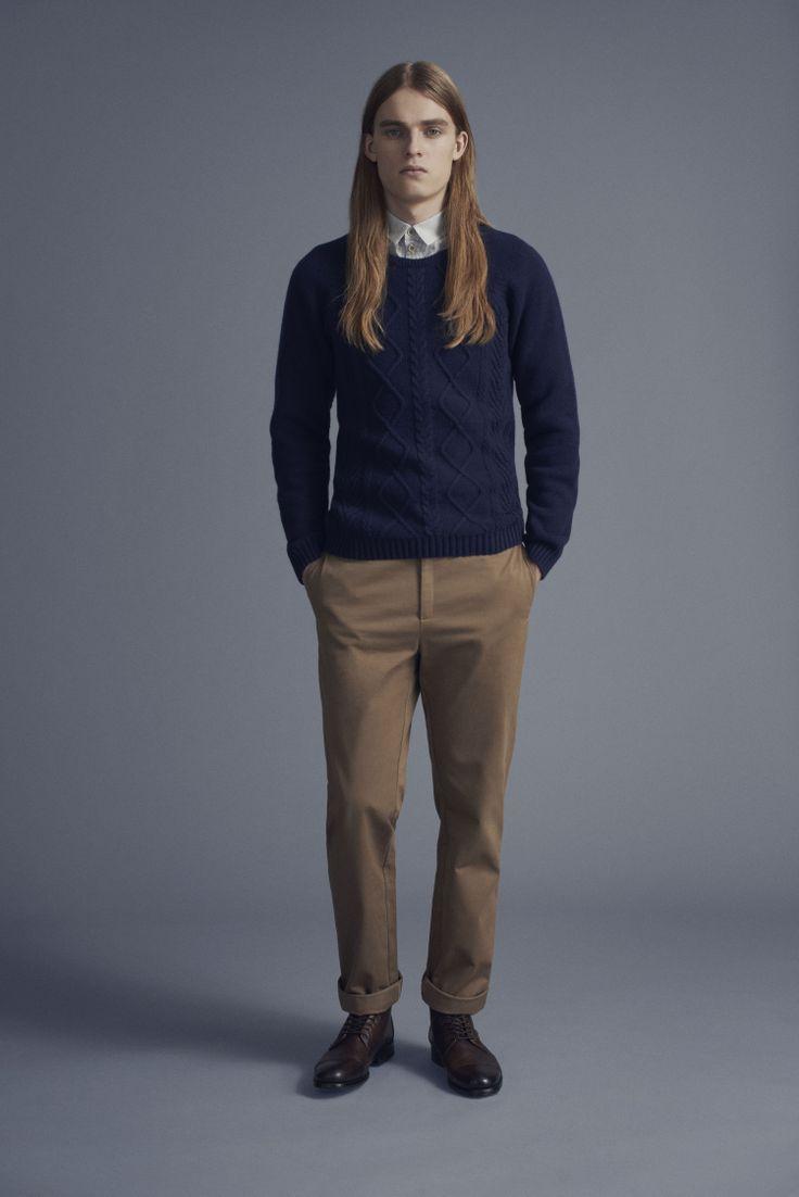 Tela Shirt, Frans Sweater and Dalek Trousers | Samuji Man Capsule Collection