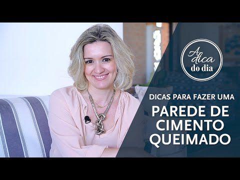 COMO FAZER UMA PAREDE DE CIMENTO QUEIMADO (DIY) | A DICA DO DIA COM FLÁVIA FERRARI - YouTube