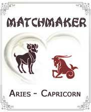 What do you get when you put a fire sign like Aries and an earth sign like Capricorn together?  You get a combination that may not be too bad, yet may not - Click for more info