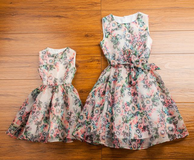 Buy now 2016 Matching Mother Daughter Clothes Family Look Matching Mom and Daughter Dress Parent-child Outfit Ma e Filha Maxi Dress just only $26.01 - 31.41 with free shipping worldwide  #boysclothing Plese click on picture to see our special price for you