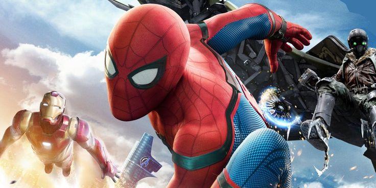 #spiderman #marvel #superhero #action #movie #summertime #summer2017 #2017trends #tomholland