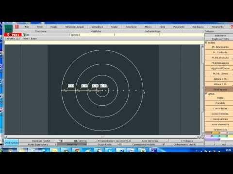 Realizzazione di un volant a forma di chiocciola - YouTube