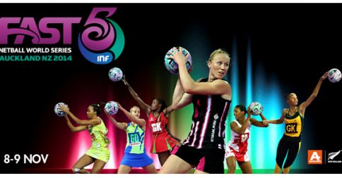 Proud to support the 2014 Fast 5 Netball World Series 8-9th November