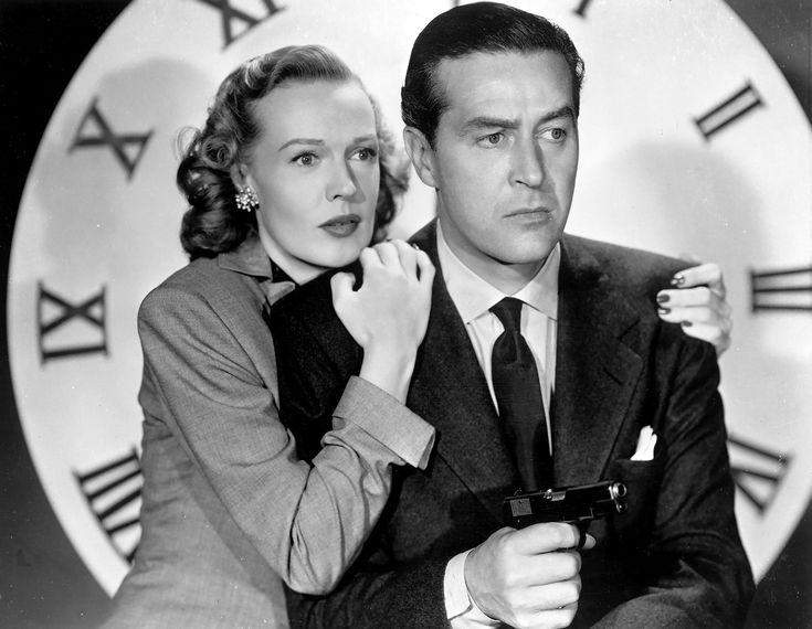 One of the all-time best film noirs... The Big Clock (1948)! #FilmNoir #Cinema #1940s #Classic #Film #JohnFarrow #RayMilland #RitaJohnson