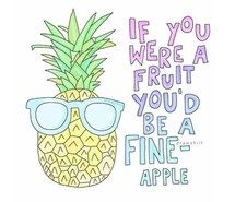 Inspiring image funny, pineapple, puns #3708181 by winterkiss - Resolution 500x448px - Find the image to your taste