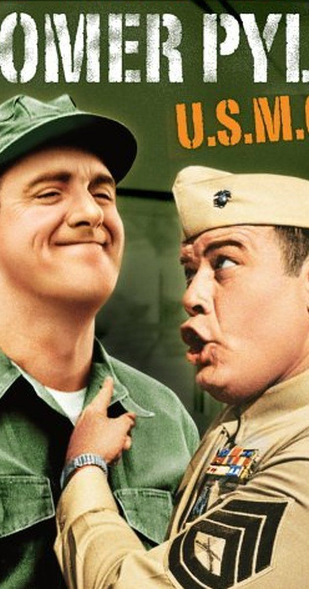 Created by Aaron Ruben.  With Jim Nabors, Frank Sutton, Ronnie Schell, Roy Stuart. The misadventures of a bumbling Marine named Gomer Pyle.
