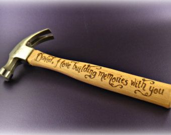 Personalized Hammer gift Christmas Xmas gift by CoveCalligraphy